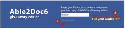Able2Doc 6: Dapatkan Lisensi Gratis Konverter PDF ke  Word