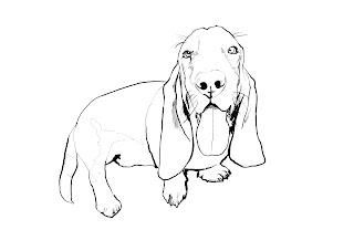Desenhos Para Colorir Cachorro Lindo