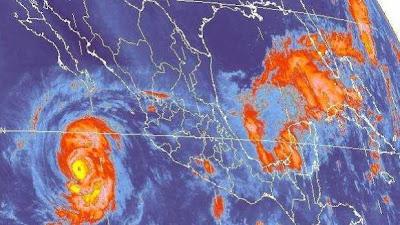 Huracan Miriam alcanza categoria , 24 de Septiembre 2012