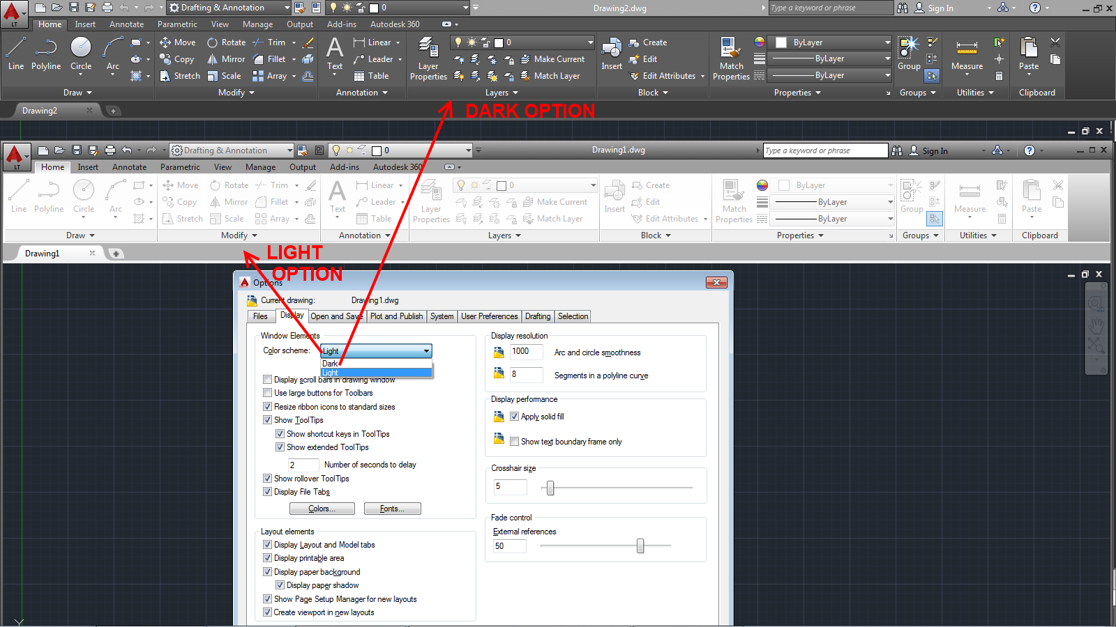 Drawing Smooth Lines In Autocad : Lt is still autocad we lasso the new features