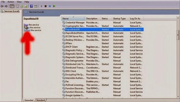 Cara Restore Database Dapodikdas Terbaru 2013