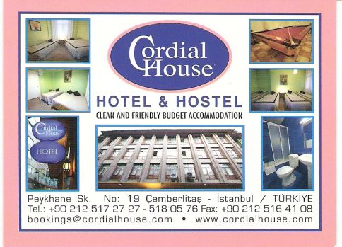 Cordial House - Hotel & Hostel