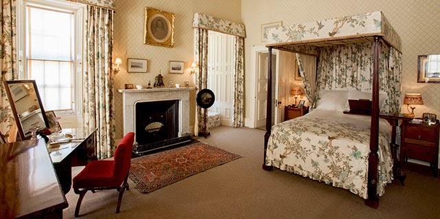 Bedroom in Brodick Castle