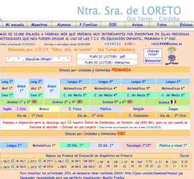 """C.E.I.P. """"Ntra. Sra. de Loreto"""" - Dos Torres (Córdoba)"""