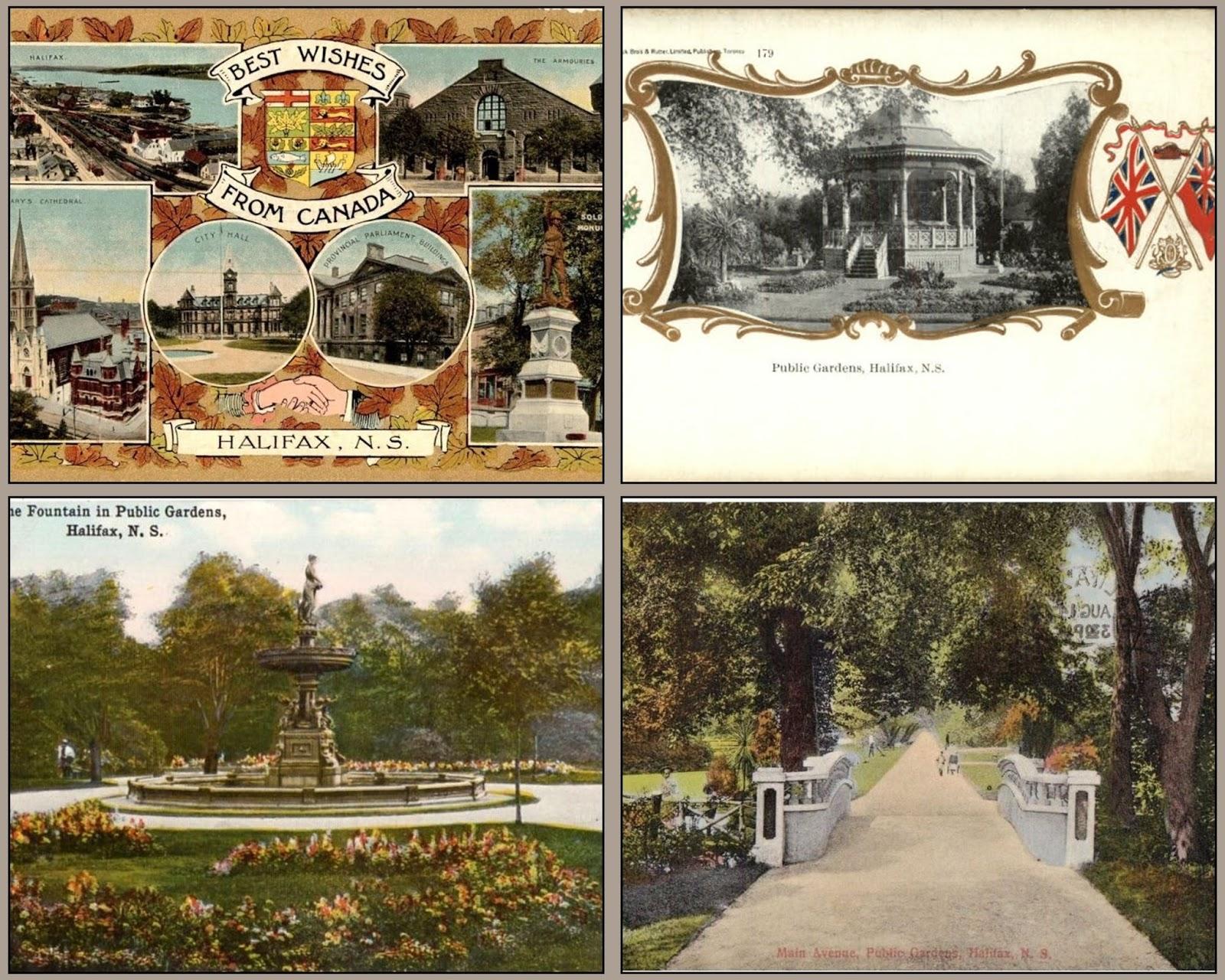 Recollections of a Vagabonde: Dahlias in Halifax Public Gardens ...