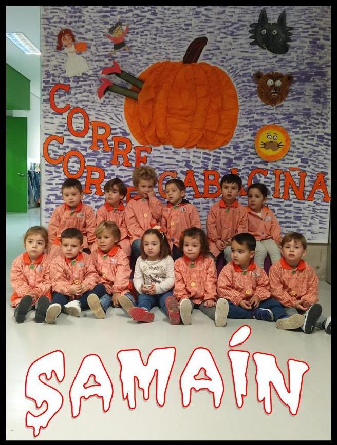 Somos os nenos e nenas de 4ºA de Educación Infantil, do CEIP Plurilingüe San Marcos (Abegondo)