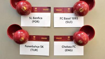 Hasil Drawing SemiFinal Liga Europa 2013