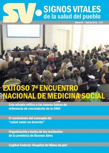 """Salió """"Signos Vitales de la Salud del Pueblo""""!"""