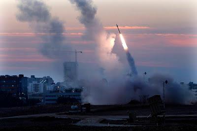 la proxima guerra lanzamiento misiles israel contra gaza