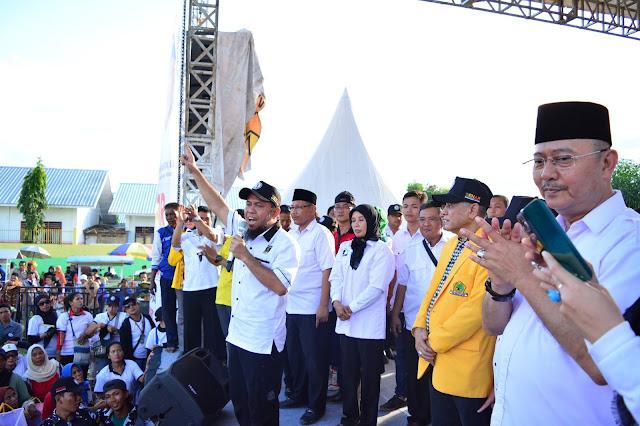 Terima Kasih Warga Medan, Pasangan BENAR Menang Telak 71,73 % Suara