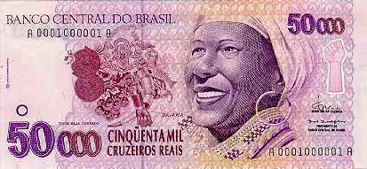 50.000 Cruzeiros Reais