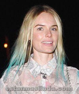 Kate Bosworth con pelo azul
