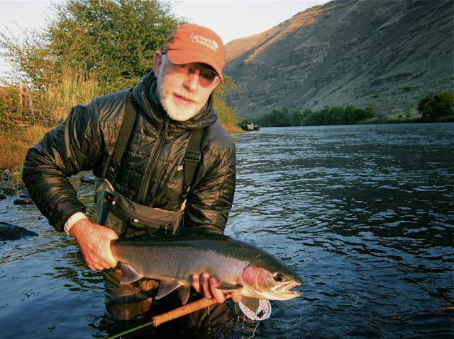Rich Kornbroth with Steelhead