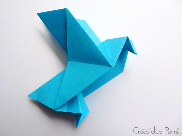 origami colombe explication