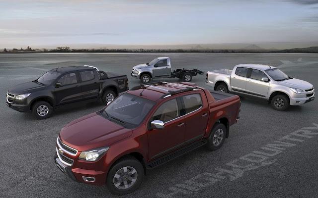 Chevrolet S-10 2016 - preços
