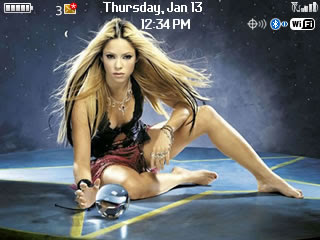 Tema BlackBerry 8520 Shakira Download Tema BlackBerry 8520 Gratis 2012