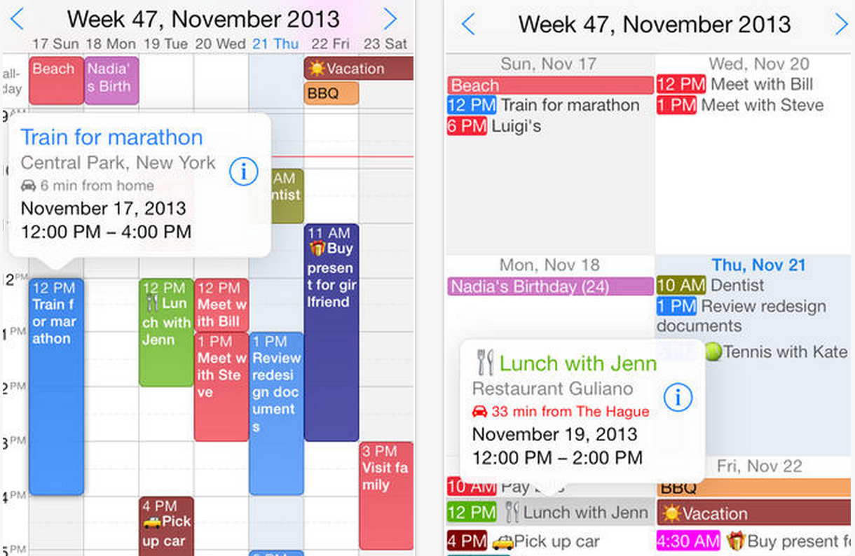 Weekly Calendar App : Good ipad calendar apps to keep you organized