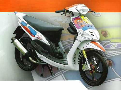 Gambar modifikasi Yamaha Mio sporty