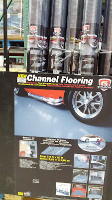 Better Life Technology G-Floor Garage Channel Floor Covering for the garage
