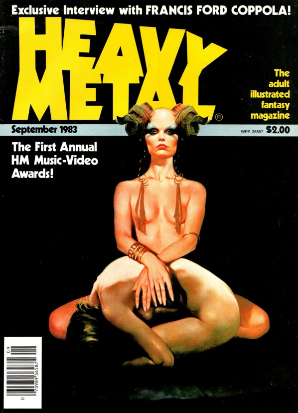 Vintage heavy metal magazines