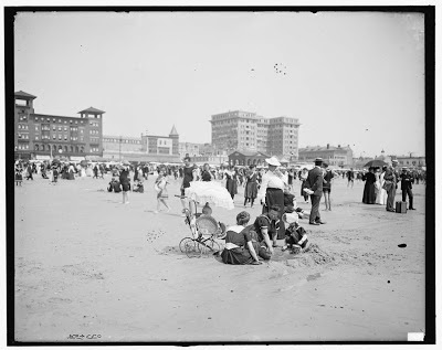 On the beach, Atlantic City, N.J.