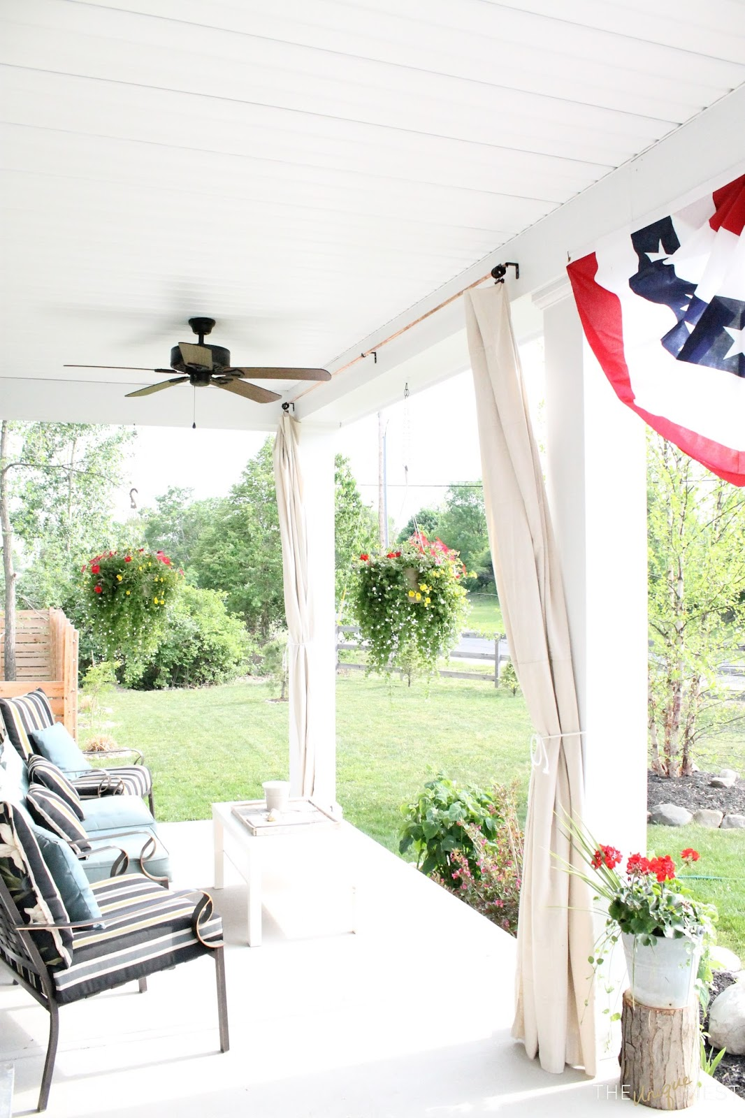 Outdoor curtains drop cloth - Cheap Easy Durable Outdoor Solution