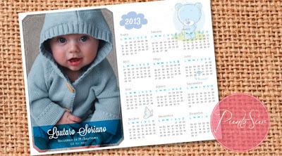 iman souvenir calendario