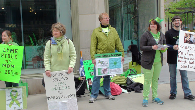 Lyme Protesters