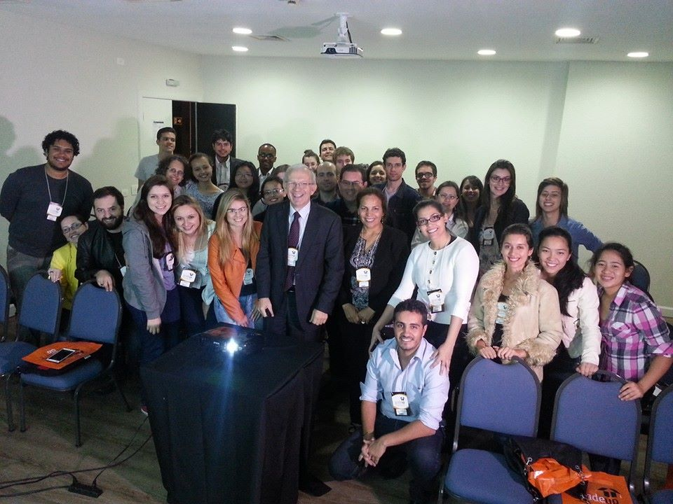 Girardi realiza palestra no UNIVERSITY UK DAY