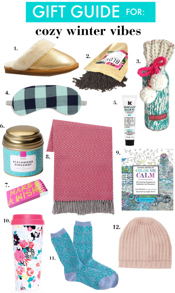 Christmas Gift Ideas for: Cozy Winter Vibes