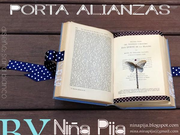 PORTA ALIANZAS ESTILO VINTAGE