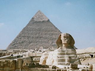 Patung Sfinks Agung Giza di mesir