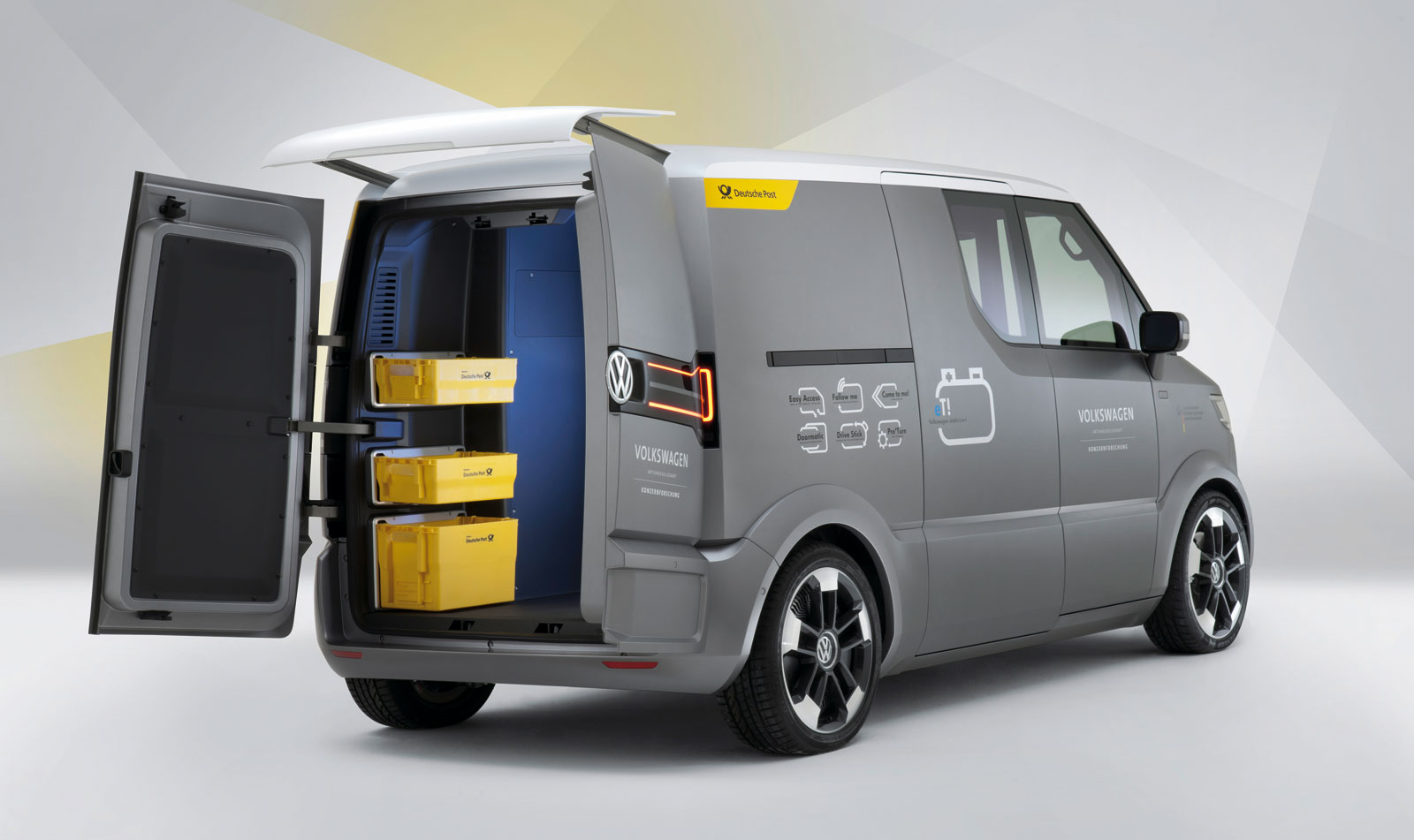 volkswagen et ev van concept electric vehicle news. Black Bedroom Furniture Sets. Home Design Ideas