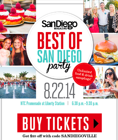 Save Big and Enter to Win Tickets to Best of San Diego Party!