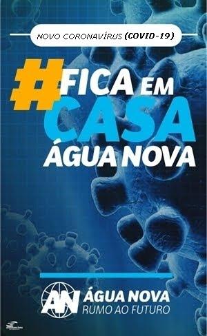 #FICA EM CASA ÁGUA NOVA