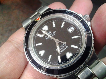OFFER RM900: Raymond weil diver (swiss auto, bezel d:38mm)
