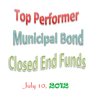 YTD Top Performer Municipal Bond CEFs
