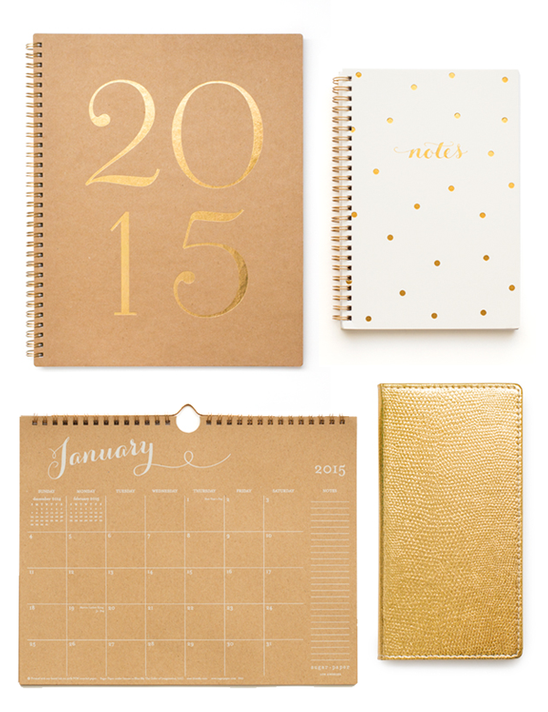 sugar paper, sugar paper for target, 2015 planner, kraft paper calendar, 2015 monthly calendar