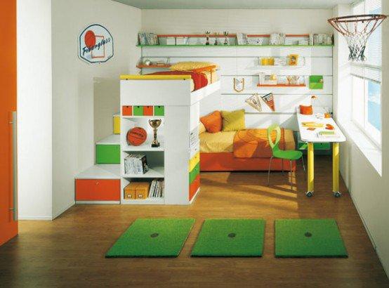 ديكور ألعاب أطفال، تصاميم يمكن