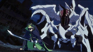 """""""o rabugento do Hyakuya Yuuichirou parece um jiraya, mas não é explicado como ele aprendeu aquilo tudo"""""""