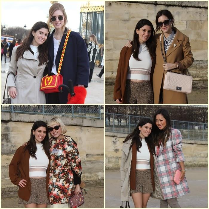 fashion bloggers, street style, paris, paris fashion week, elie saab