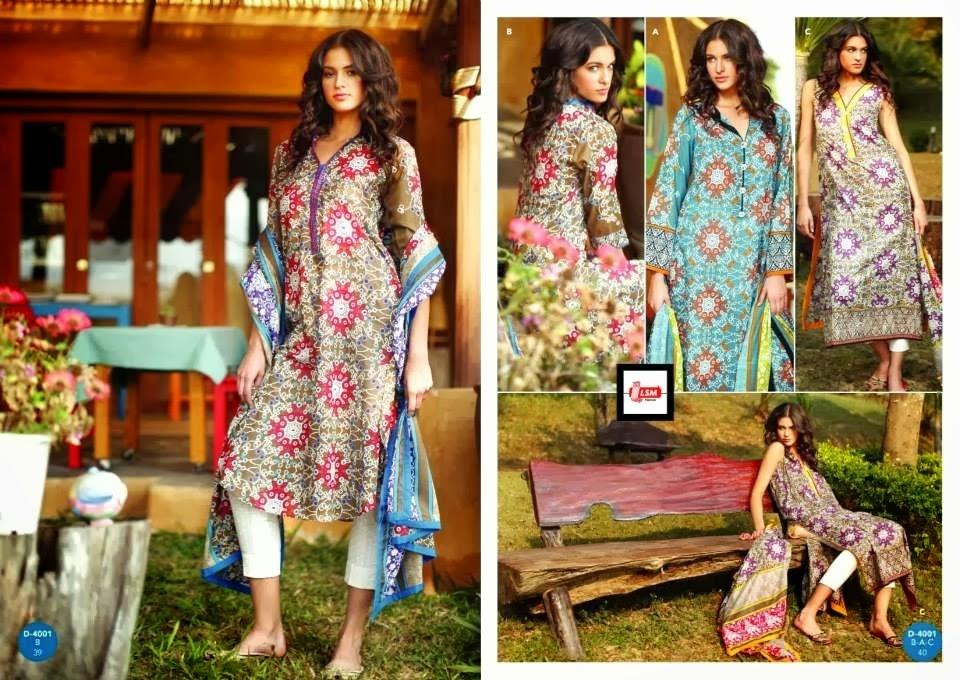 Lawn Prints Kurti Fashion