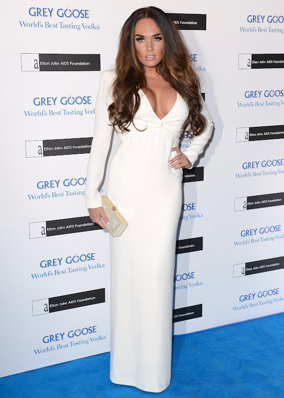 Tamara Ecclestone hot on the blue carpet