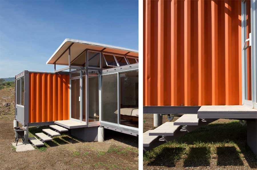 Inspirational of home interiors and garden making plans to build shipping container houses - Container homes costa rica ...