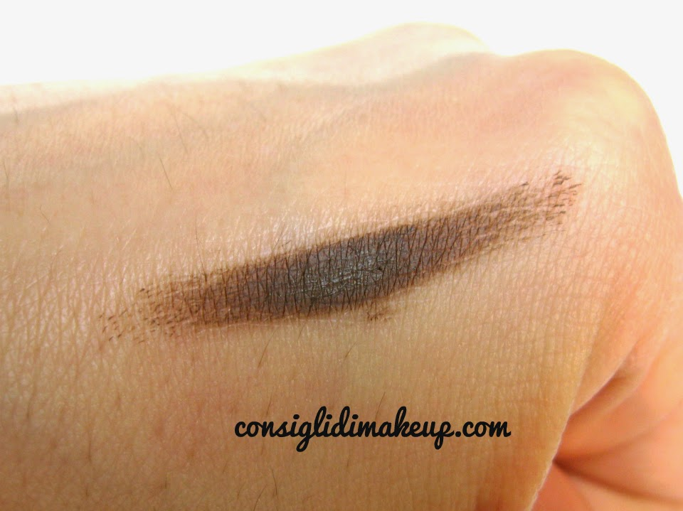 mufe swatch aqua brow review