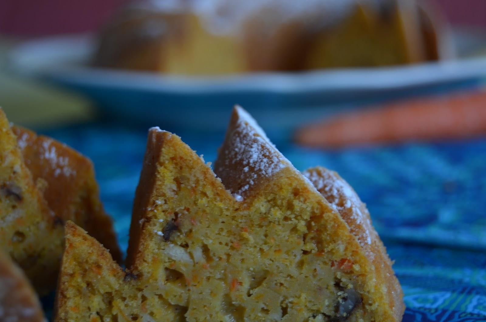 Bundt Cake de Zanahoria y Cardamomo