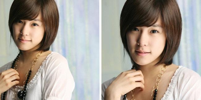 gaya rambut wanita dewasa menawan