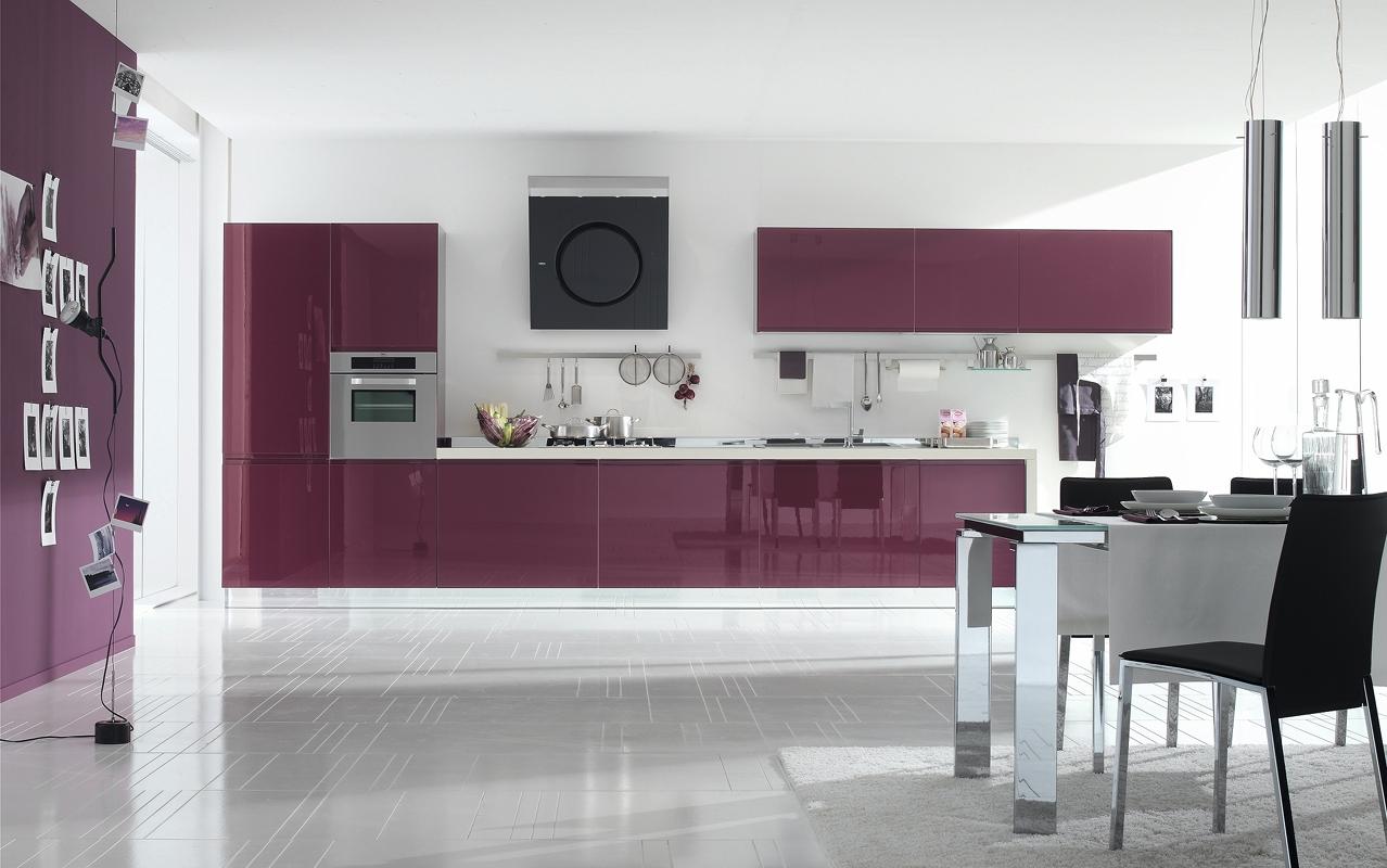 cucinestile: La vivacità del colore secondo Stosa Cucine