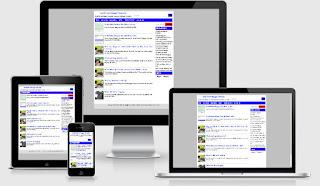 Fast responsive blogger template terbaru