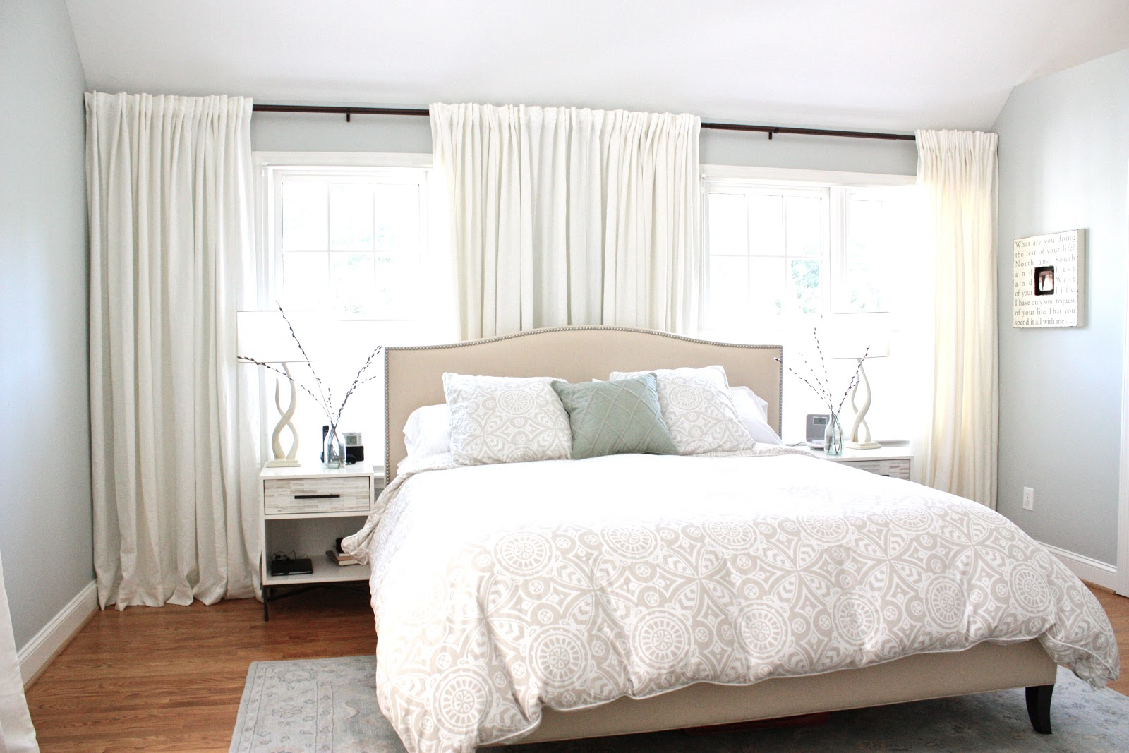 moss eclectic a before after peaceful bedroom makeover